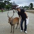 興福寺 鹿とオトメ