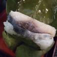 柿の葉寿司 中はこんな