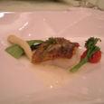 メイン 魚料理