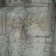 彫刻 王の軍隊の行進