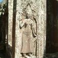 女神デヴァターの彫刻